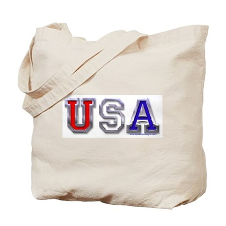 USA Chrome Tote Bag