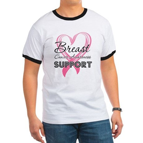 Support Breast Cancer Ringer T