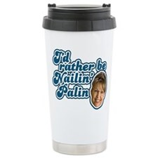 Nailin Palin Ceramic Travel Mug