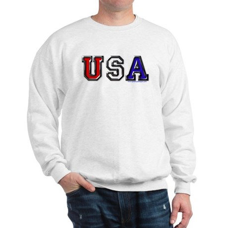 USA Black Chrome Sweatshirt