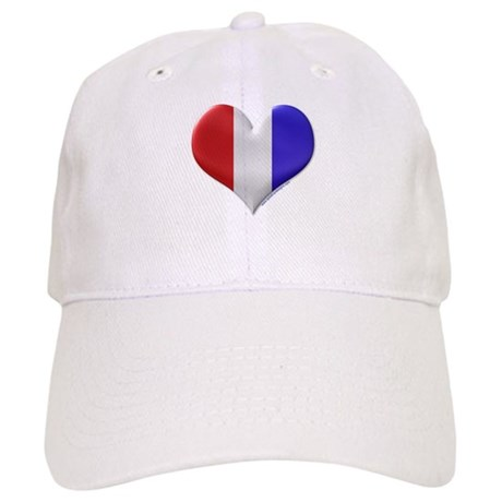 Heart - Red, White, & Blue Cap