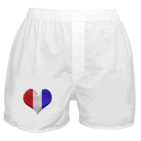 Heart - Red, White, & Blue Boxer Shorts