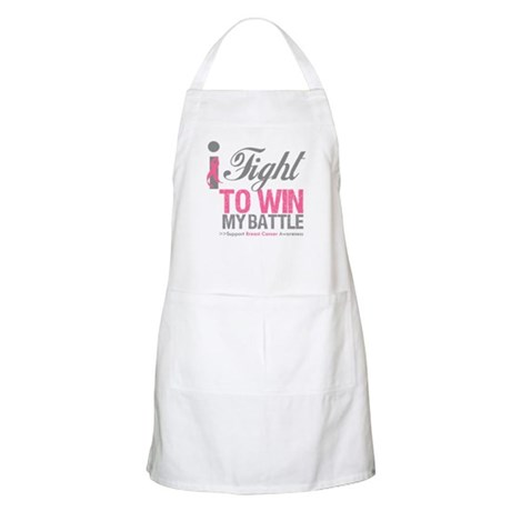 I Fight To Win Battle Apron