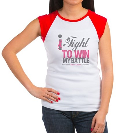 I Fight To Win Battle Women's Cap Sleeve T-Shirt