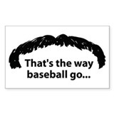 Funny Rangers baseball Decal