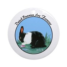 Dutch Bunny Ornament (Round)