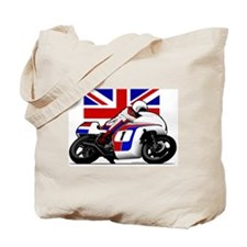Norton British Twins Tote Bag