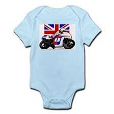 Norton British Twins Infant Bodysuit