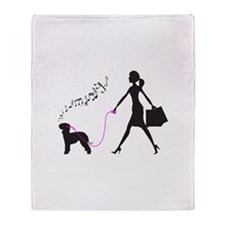 Bedlington Terrier Throw Blanket