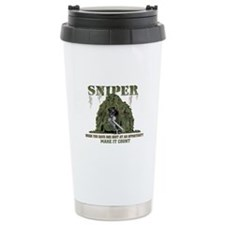 Sniper Ceramic Travel Mug