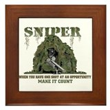 Sniper Framed Tile
