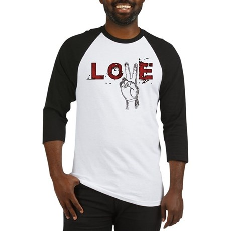 Love Peace V Men's Baseball Jersey