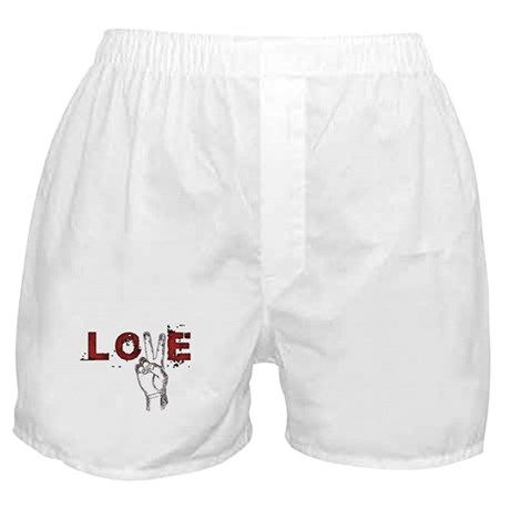 Love Peace V Boxer Shorts