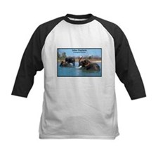 Indian Elephants Photo Tee