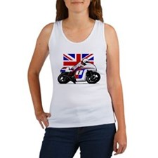 Norton British Twins Women's Tank Top