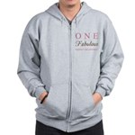 One Fabulous Great Grandma Zip Hoodie