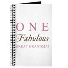 One Fabulous Great Grandma Journal