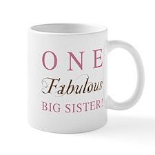 One Fabulous Big Sister Mug