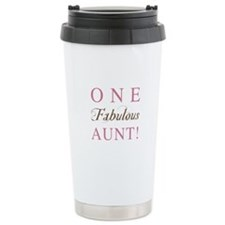 One Fabulous Aunt Ceramic Travel Mug