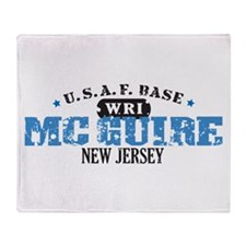 McGuire Air Force Base Throw Blanket