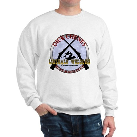 Dick Cheney Gun Club Sweatshirt