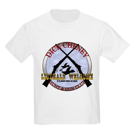 Dick Cheney Gun Club Kids T-Shirt
