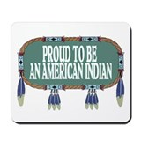 PROUD INDIAN Mousepad