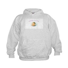Mommy's Little Peach Kid's Hoodie