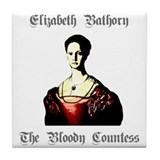 Elizabeth Bathory Tile Coaster