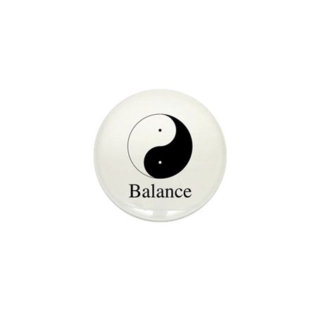 Daoist Balance Mini Buttons ~ Pack of 10