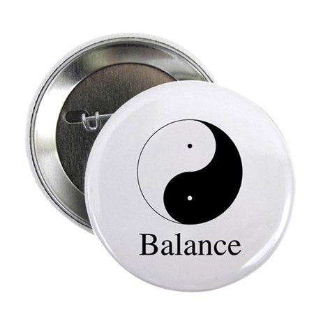 Daoist Balance 2.25 Inch Buttons ~ Pack of 10