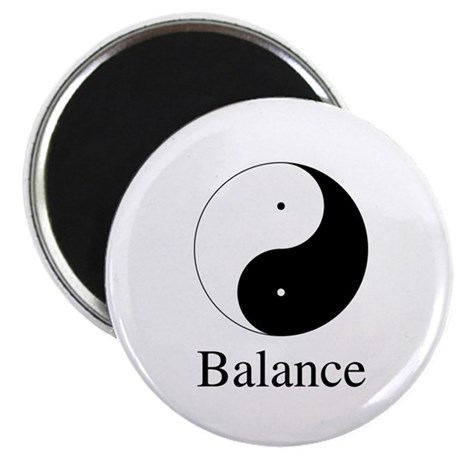 Daoist Balance 2.25 Inch Magnets ~ Pack of 10