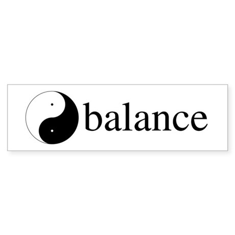 Daoist Balance Bumper Stickers ~ Pack of 10