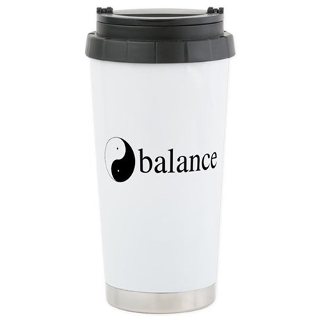 Daoist Balance Ceramic Travel Mug