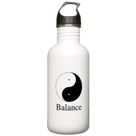 Daoist Balance One Liter Stainless Water Bottle