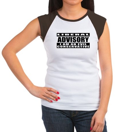 "Conservative ""No Virgins"" Women's Cap Sleeve T-Shi"