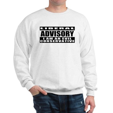 "Conservative ""No Virgins"" Sweatshirt"