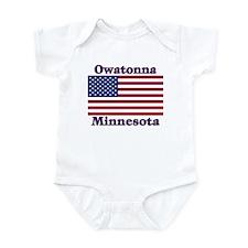 Owatonna US Flag Infant Bodysuit