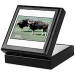 Gaur Bulls Photo Keepsake Box