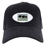 Gaur Bulls Photo Black Cap