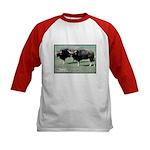 Gaur Bulls Photo (Front) Kids Baseball Jersey