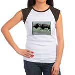 Gaur Bulls Photo (Front) Women's Cap Sleeve T-Shir