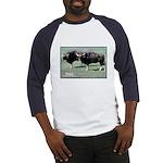 Gaur Bulls Photo Baseball Jersey