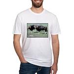 Gaur Bulls Photo Fitted T-Shirt