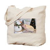 Hedgehog Casper Seasonal Coll Tote Bag