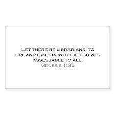 Librarians / Genesis Decal