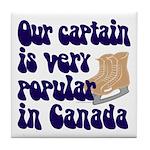 Popular captain Tile Coaster
