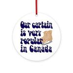 Popular captain Ornament (Round)