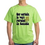 Popular captain Green T-Shirt