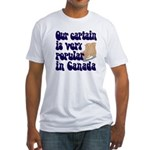 Popular captain Fitted T-Shirt